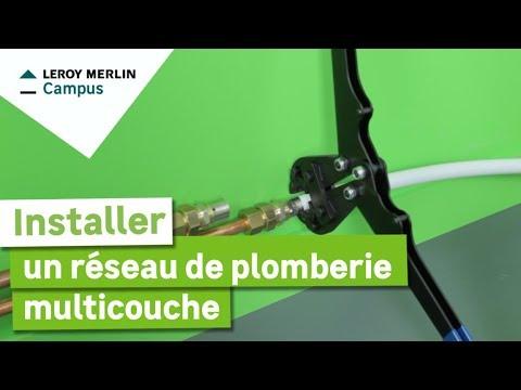 Comment Installer Un Réseau De Plomberie Multicouche Leroy Merlin