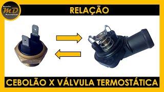 Relação Interruptor Térmico (Cebolão do Radiador) x Válvula Termostática thumbnail