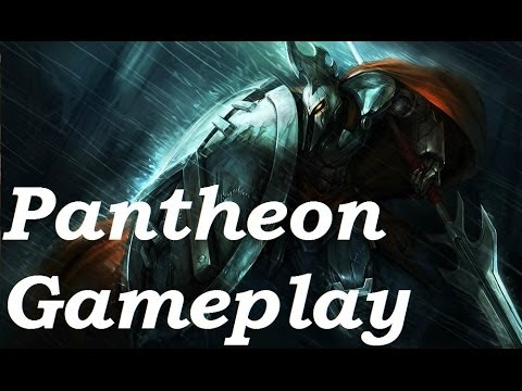 Full Metal Pantheon (Jungle) Gameplay & Commentary - 4v4 - League of Legends