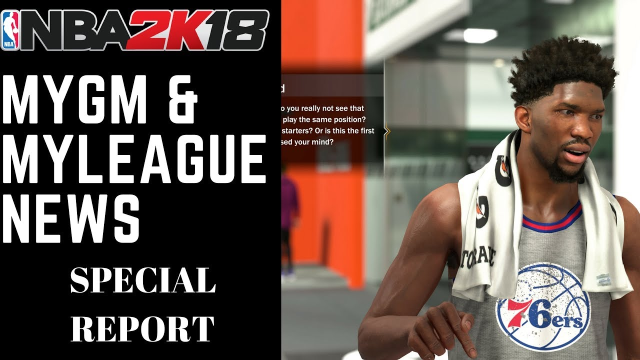 a2f364f8f7b NBA 2K18 News | Everything You Need to Know About MyGM and MyLeague ...