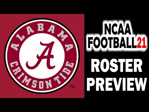 NCAA Football 21 Roster Preview: Alabama Crimson Tide (Updated Roster For NCAA 14)