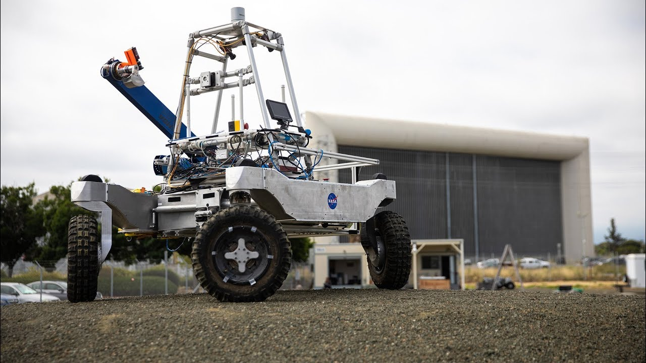 Driving a Robot on NASA's Roverscape!