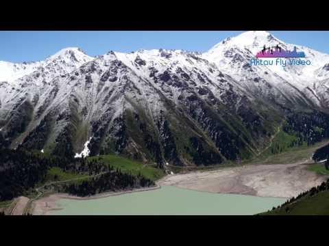 Горы Тянь-Шань, Большое Алматинское озеро 4K