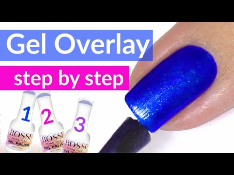 gel-nail-overlay-tutorial-|-rossi-nails-review