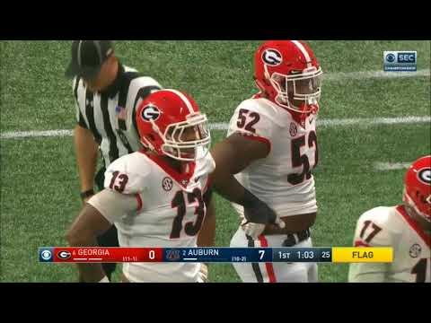 2017 - SEC Championship - Georgia Bulldogs vs Auburn Tigers in 30 Minutes