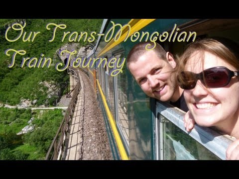 Taking The Trans-Mongolian Train