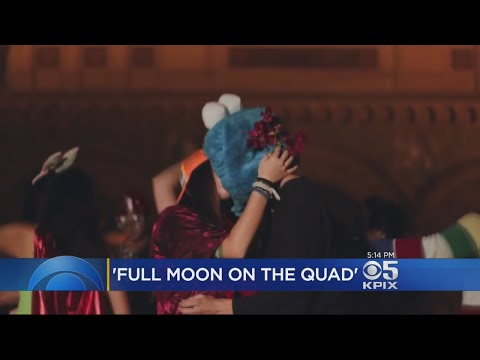 Annual Kissing Event At Stanford Takes Different Tone