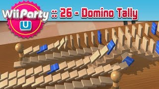 Wii Party U :: 26 - Domino Tally!
