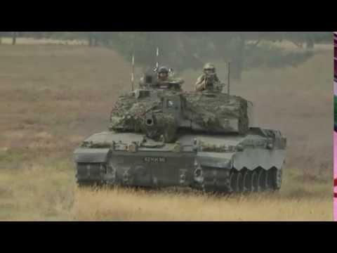 British Army Cribs | Challenger 2 Main Battle Tank | British Army