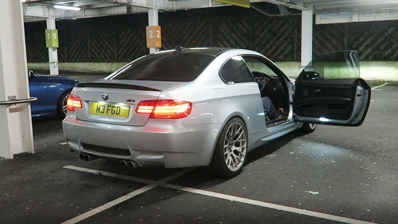 Bmw E92 M3 Exhaust With 4 Pipe Mod Back Box Primary Decat Car