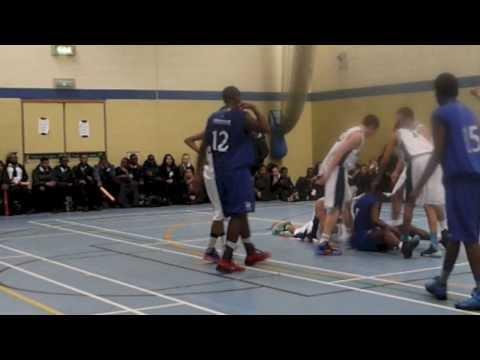 Harrow High Basketball: HHS v Platanos (Jan 2014)