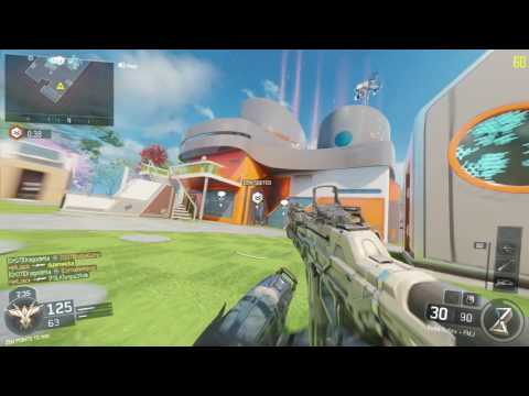 Black Ops 3 R9 380, Intel I5 6500 Gameplay.