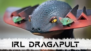 Pokemon Sword and Shield // Making a Realistic Dragapult