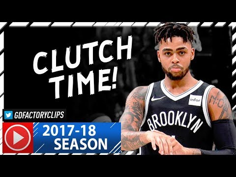 D'Angelo Russell Full Highlights vs Magic (2017.10.20) - 17 Pts, CLUTCH!