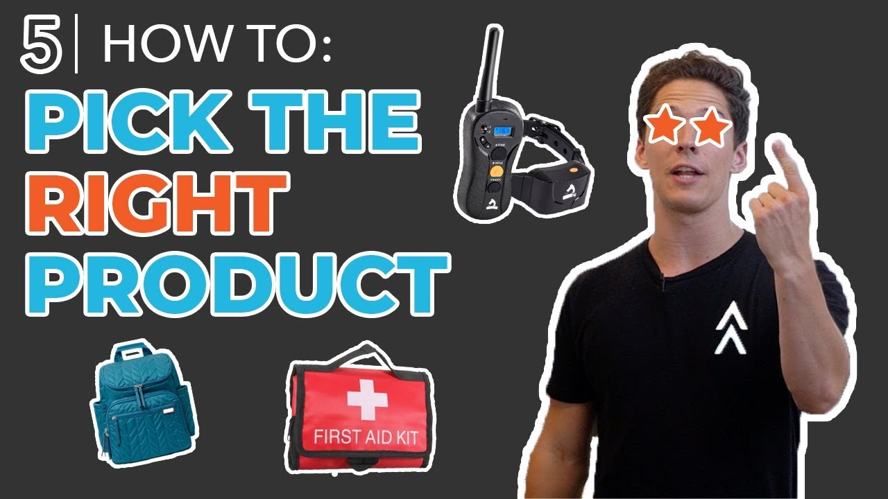 Amazon Product Research & Picking a Product to Source | How to Sell on Amazon FBA for Beginners