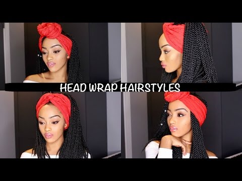 EASY HEADWRAP CROCHET BRAIDS HAIRSTYLES