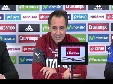 """Prandelli:""""La partita contro la Spagna ha tanti rischi"""""""