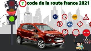 Code de la route France conforme à la nouvelle Réforme Série #7