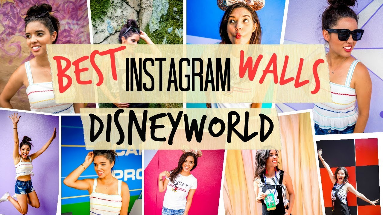 How To Find Best Instagram Walls At Disney World