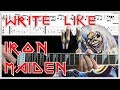 How To Write & Play Like Iron Maiden | Riffs, Song & Guitar Tutorial