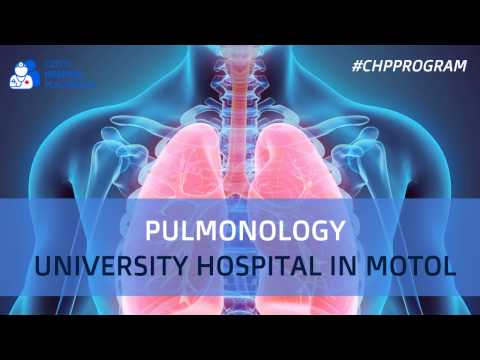 The Pulmonology Specialized Center is concerned with diagnostics, treatment, evaluation and research of diseases of the lower respiratory tract with emphasis onto intensive pneumological care, interventional bronchology, comprehensive care for patients with COPD (Chronic Obstructive Pulmonary Disease), treatment of patients with cystic fibrosis, oncology including biological therapy, sleep medicine, examination of patients prior to lung transplantation and also, the treatment of tobacco addiction. Come and join our team of professionals for medical shadowing placements in English with Czech Hospital Placements Program.