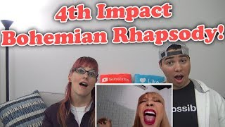 MOM & SON REACTION! 4th Impact | Bohemian Rhapsody - Queen