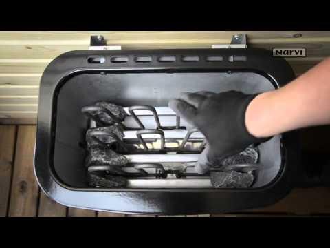 Как правильно уложить камни в электрокаменку