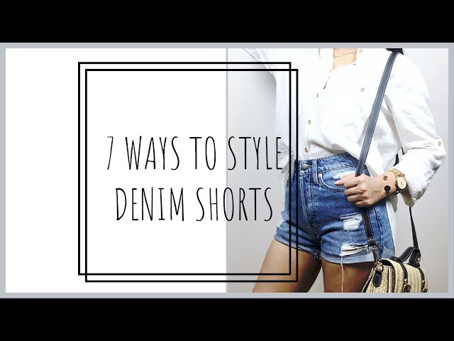 7 Ways to Style Denim Shorts | Prity Singh
