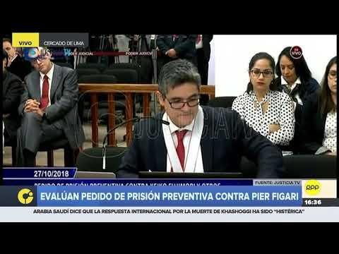 José Domingo Pérez: Pier Figari podría recibir una condena de 13 a 16 años de cárcel