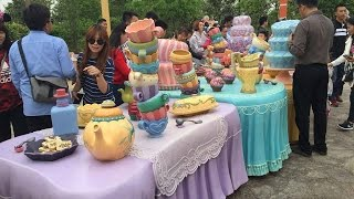 Shanghai DIsneyland Ride Alice in Wonderland Maz 2016