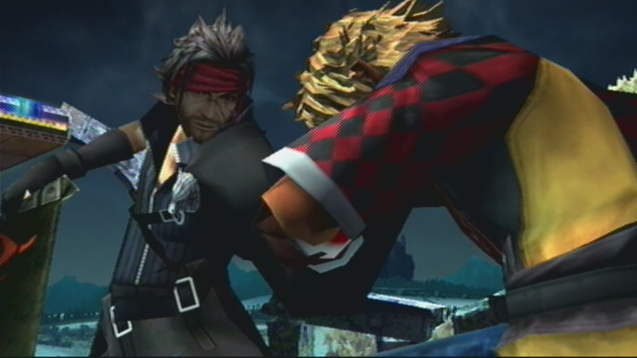 Final Fantasy X Son and Father Fight - Tidus vs Jecht ...