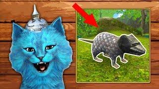 СИМУЛЯТОР Маленькой МЫШИ #1 БРОНИРОВАННАЯ МЫШЬ напал кот говорящий КОТЁНОК ЛАЙК