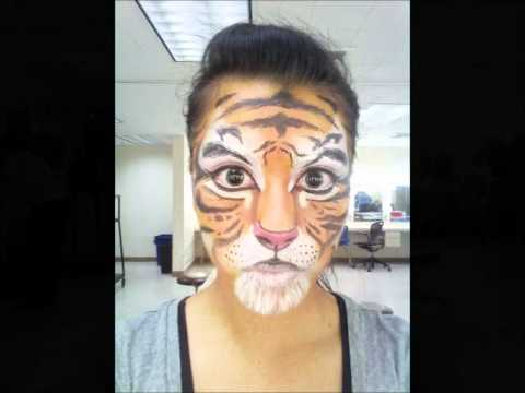 Tiger Makeup - ... Realistic Tiger Makeup