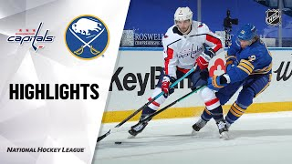 NHL Highlights | Capitals @ Sabres 1/15/21