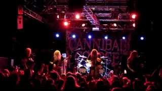 Cannibal Corpse - Kill Or Become Live @ Nosturi, Helsinki 15.10.2014