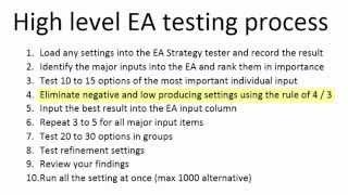 High level testing 1