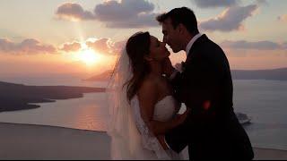 Reyhana & Andy Wedding in Santorini