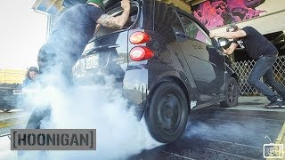 [HOONIGAN] DT 012: Electric Smart Car Burnouts, Donuts and Other Bad Ideas