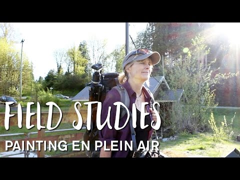 Field Studies: Painting en Plein Air featuring Gaye Adams