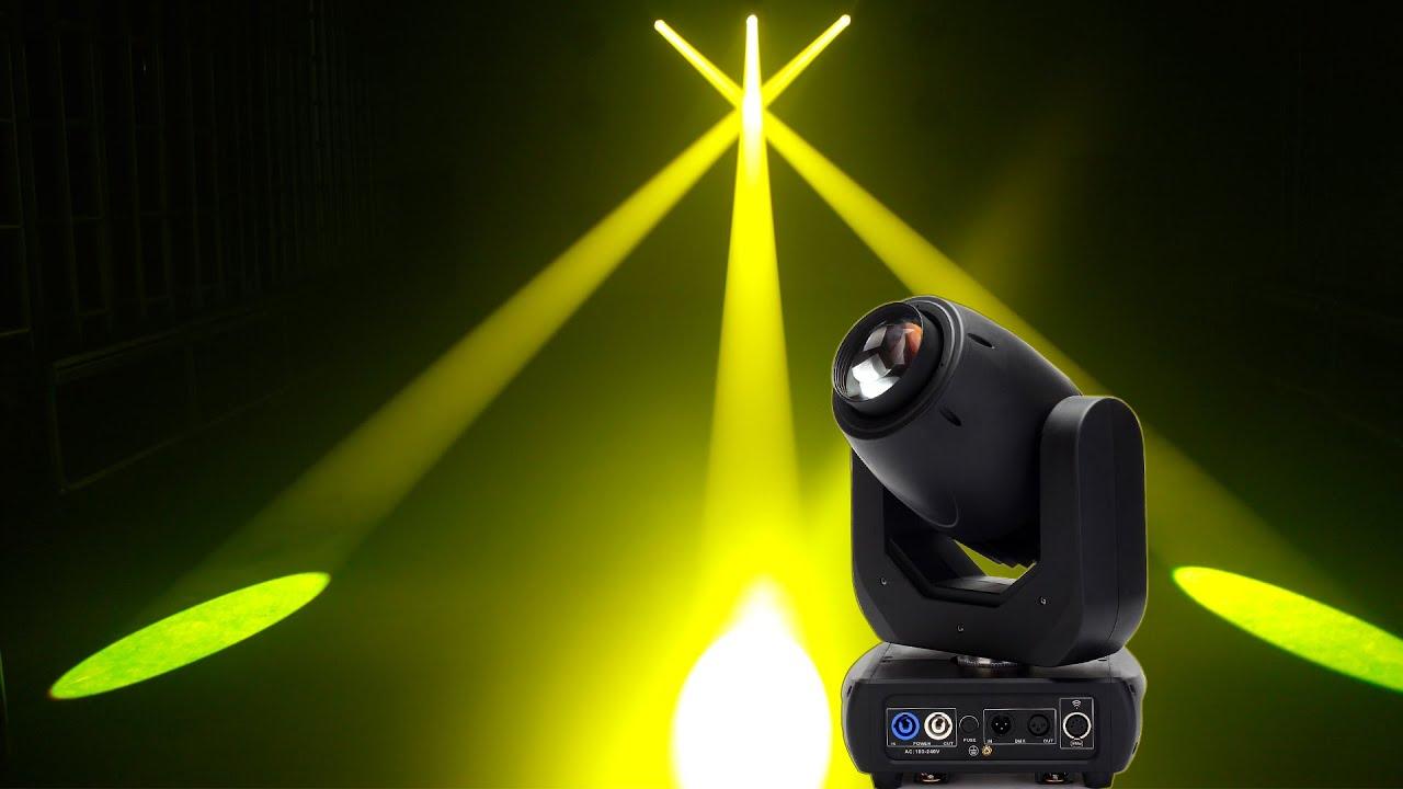 Super Sharp 150w Led Beam Moving Head Light Youtube