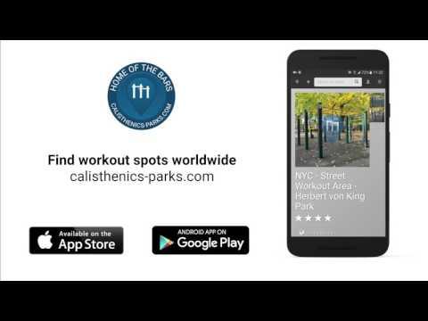 Calisthenics Parks mobile app - Find workout spots worldwide