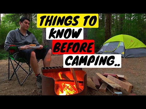 Camping For The First Time? You NEED To Watch This..