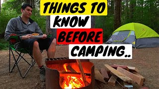 Camping for the fiŗst time? You NEED to watch this..