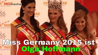 Miss Germany 2015 - Finale | Olga Hoffman ist Schönheitskönigin