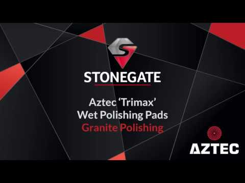 Aztec Trimax Granite & Quartz Polishing Test