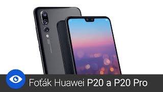 Huawei P20 Pro a tři fotoaparáty
