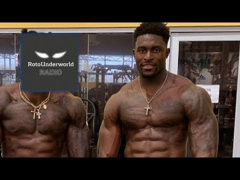 D K Metcalf Shares His Workout Tips With Yahoo S Matt Harmon Youtube