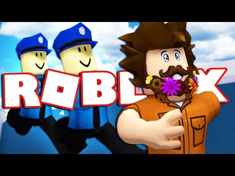 JOEY ESCAPES FROM ROBLOX PRISON!