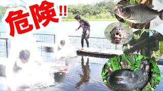 【アマゾン2】急病発症?ピラニアも住むアマゾン川に転落した!!