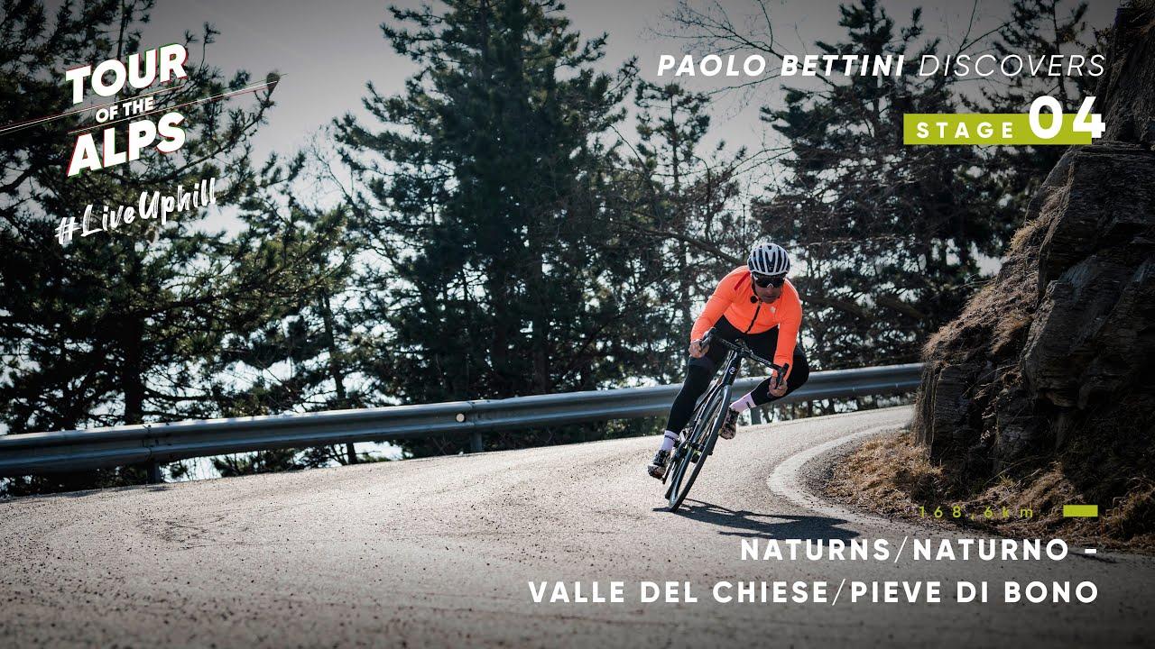 #TouroftheAlps2021 - Paolo Bettini discovers Stage 4